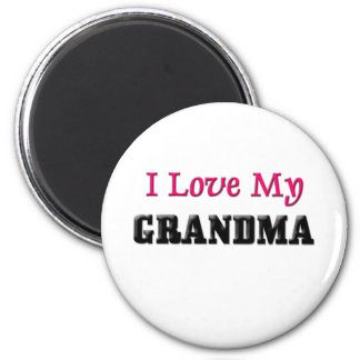 I Love My Grandma Fridge Magnets