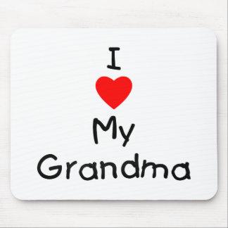 I love my grandma mouse pad