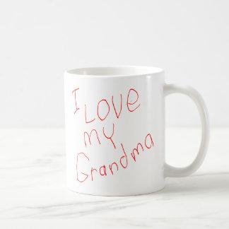 I Love My Grandma! Mug