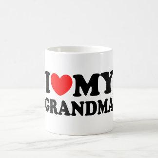 I Love My Grandma Classic White Coffee Mug