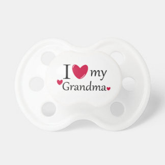 I Love My Grandma Pacifier