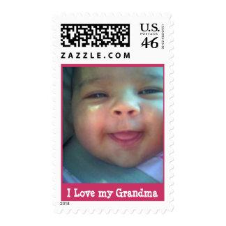 I Love my Grandma Postage