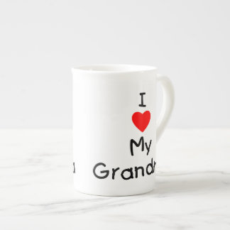 I love my grandma tea cup