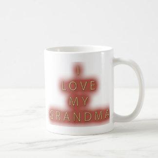 I Love My Grandma (White) Coffee Mug
