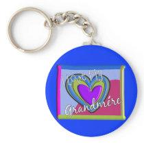 I love my Grandmere (FRENCH) Keychain