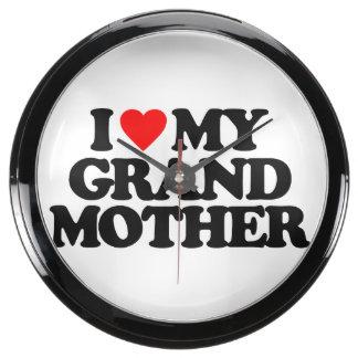 I LOVE MY GRANDMOTHER AQUAVISTA CLOCKS