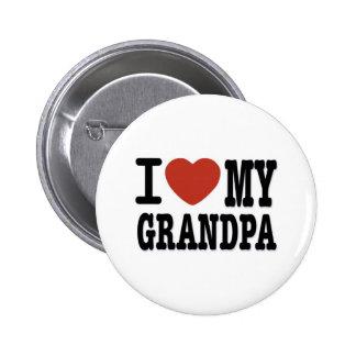 I LOVE MY GRANDPA BUTTONS