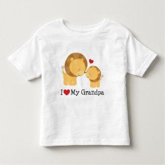 I Love My Grandpa Gift Toddler T-shirt