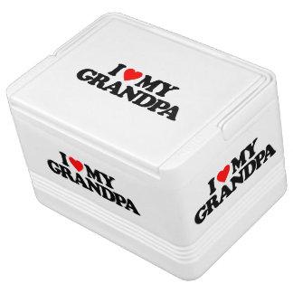 I LOVE MY GRANDPA IGLOO ICE CHEST