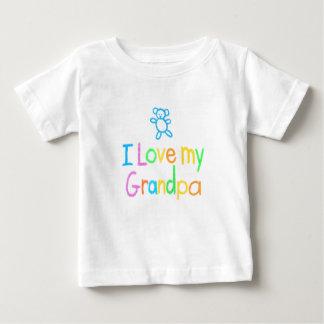 I Love My Grandpa Infant Tee Shirt