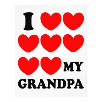 I Love My Grandpa Letterhead