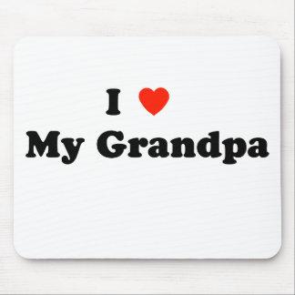 I Love My Grandpa Mousepad