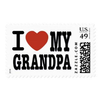 I LOVE MY GRANDPA STAMP