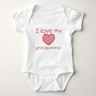 I love my grandparents baby bodysuit