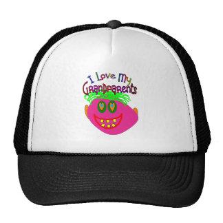 I Love My Grandparents Kids Stuff Hats