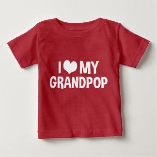 I Love My Grandpop Baby T-Shirt