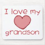 I love my grandson mousepads