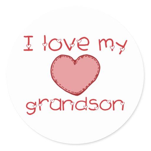 I love my grandson classic round - 26.4KB