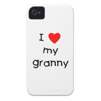 I love my granny iPhone 4 covers