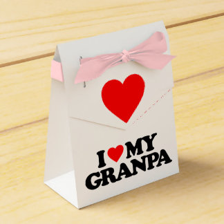 I LOVE MY GRANPA PARTY FAVOR BOXES