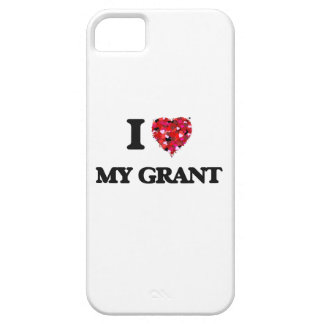 I Love My Grant iPhone 5 Cases