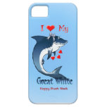 I Love My Grat White iphone 5 iPhone 5 Covers