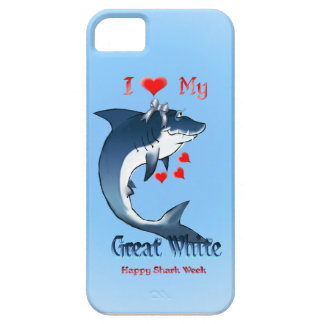 I Love My Grat White iphone 5 iPhone SE/5/5s Case