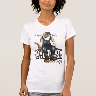 I Love My Grease Monkey Funny T-Shirts