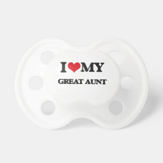 I love my Great Aunt Pacifier
