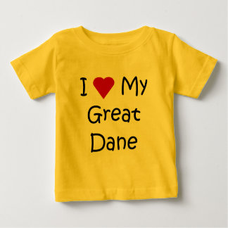 I Love My Great Dane Dog Breed Lover Gifts T-shirt