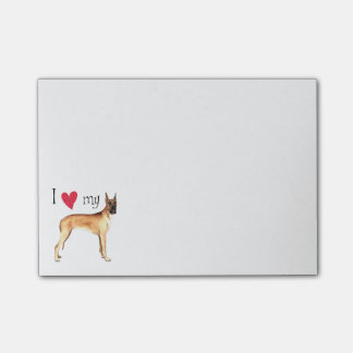 I Love my Great Dane Post-it® Notes