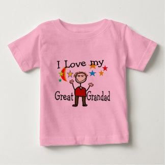 I Love My Great Grandad Baby T-Shirt