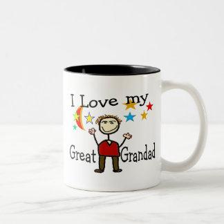 I Love My Great Grandad Coffee Mug