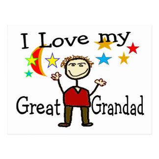 I Love My Great Grandad Postcard