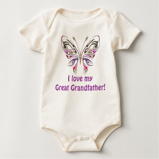 I Love My Great Grandfather! Baby Bodysuit