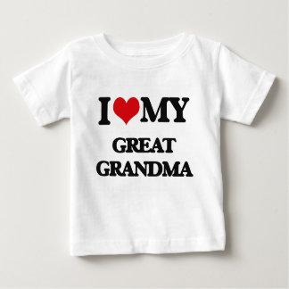 I love my Great Grandma Infant T-shirt