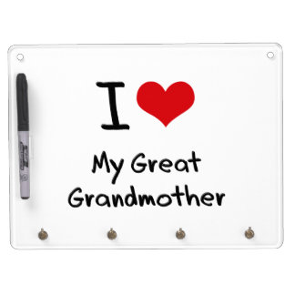 I Love My Great Grandmother Dry-Erase Boards