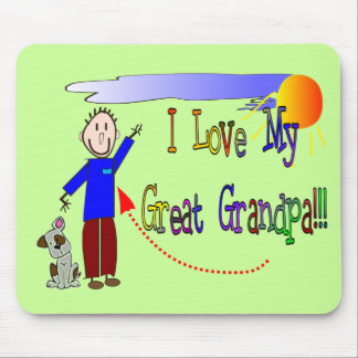 I love my Great Grandpa Mouse Pad