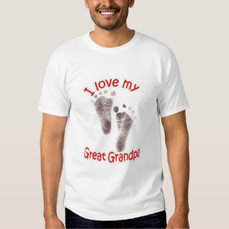 I love my Great Grandpa Tshirts