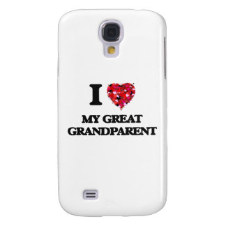 I Love My Great Grandparent Galaxy S4 Cases