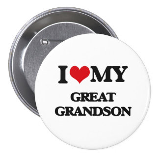I love my Great Grandson Button