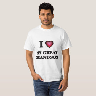 I Love My Great Grandson T-Shirt