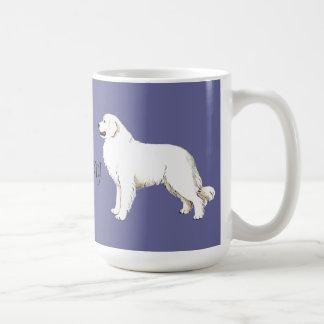 I Love my Great Pyrenees Classic White Coffee Mug