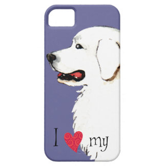 I Love my Great Pyrenees iPhone SE/5/5s Case