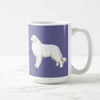 I Love my Great Pyrenees Mugs