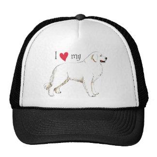 I Love my Great Pyrenees Trucker Hat