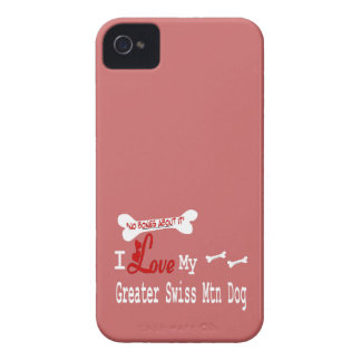 I Love My Greater Swiss Mountain Dog iPhone 4 Case