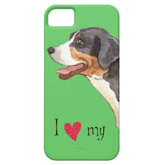 I Love my Greater Swiss Mountain Dog iPhone SE/5/5s Case
