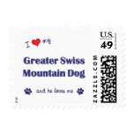 I Love My Greater Swiss Mountain Dog (Male Dog) Postage Stamp