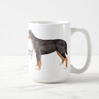 I Love my Greater Swiss Mountain Dog Classic White Coffee Mug